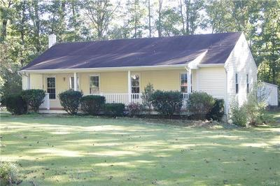 Powhatan Single Family Home For Sale: 1542 Dogwood Road