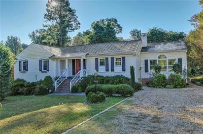 Richmond Single Family Home For Sale: 10051 Twin Valley Road