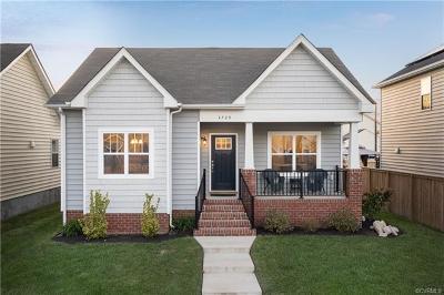 Richmond Single Family Home For Sale: 4720 Fulton Street