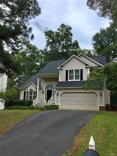 Chesterfield VA Single Family Home For Sale: $259,500