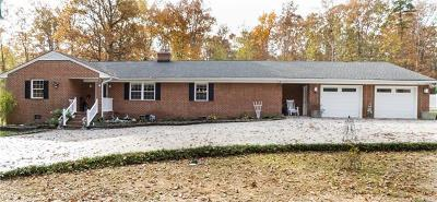 Powhatan County Single Family Home For Sale: 2424 Huguenot Springs Road