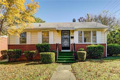 Petersburg Single Family Home For Sale: 1035 Augusta Avenue