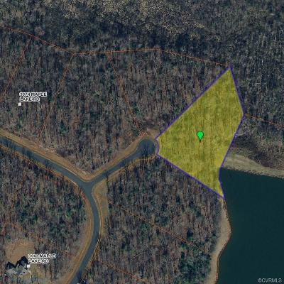 Powhatan Residential Lots & Land For Sale: 3036 Maple Lake Court