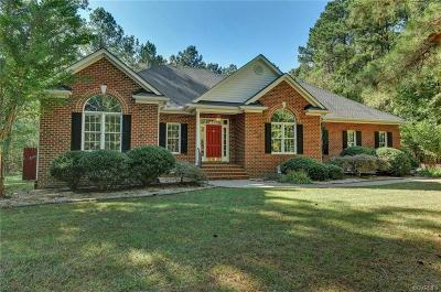Powhatan Single Family Home For Sale: 2901 Maple Grove Lane
