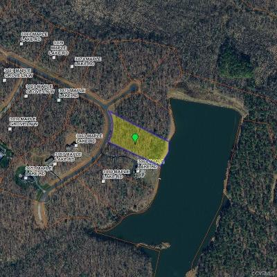 Powhatan Residential Lots & Land For Sale: 3068 Maple Lake Road