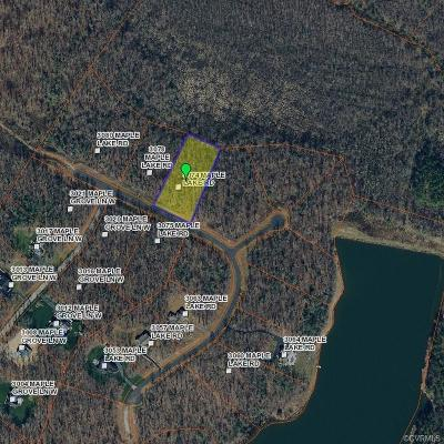 Powhatan County Residential Lots & Land For Sale: 3074 Maple Lake Road