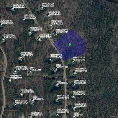 Powhatan County Residential Lots & Land For Sale: 2732 Maple Grove Lane