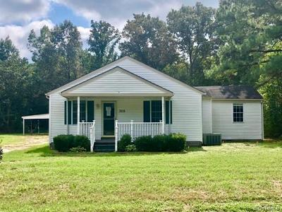 Single Family Home For Sale: 3215 Rives Road