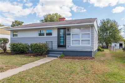 Richmond Single Family Home For Sale: 1611 North 27th Street