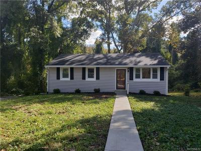 Chesterfield Single Family Home For Sale: 3501 Sylvania Road