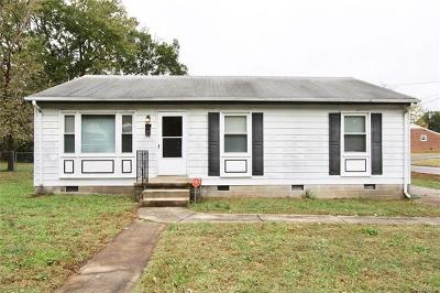 Dinwiddie Single Family Home For Sale: 212 North Beech Avenue