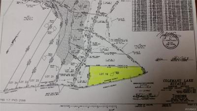 Dinwiddie County Residential Lots & Land For Sale: 12425 White Oak Road