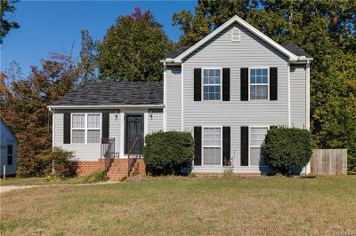 South Chesterfield Single Family Home For Sale: 16630 Amherst Oak Lane