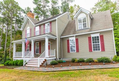 King William County Single Family Home For Sale: 1806 Custis Millpond Road