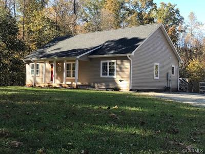Powhatan Single Family Home For Sale: 6378 Anderson Highway