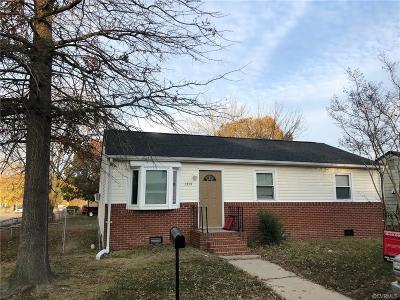 Hopewell Single Family Home For Sale: 1301 New York Avenue