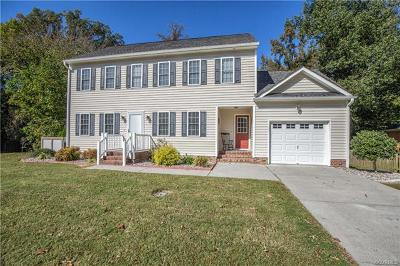 Colonial Heights VA Single Family Home For Sale: $254,950