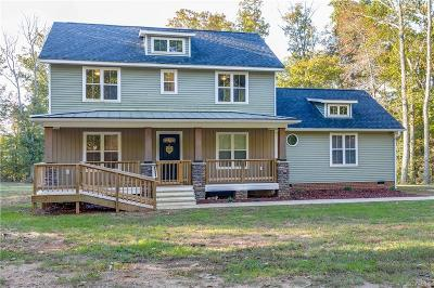 Powhatan Single Family Home For Sale: 2341 Old Church Road