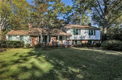 Richmond Single Family Home For Sale: 7612 Piney Branch Road