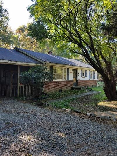 Midlothian Single Family Home For Sale: 11401 Genito Road