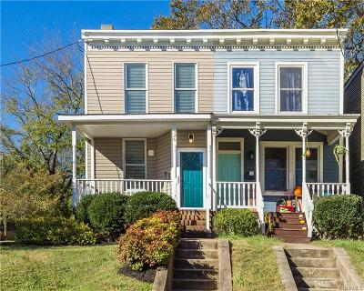 Richmond Single Family Home For Sale: 526 North 21st Street
