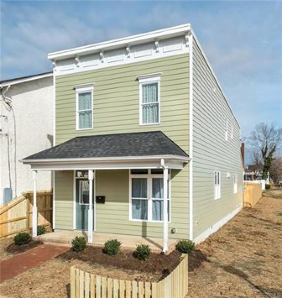 Richmond Single Family Home For Sale: 1324 North 32nd Street
