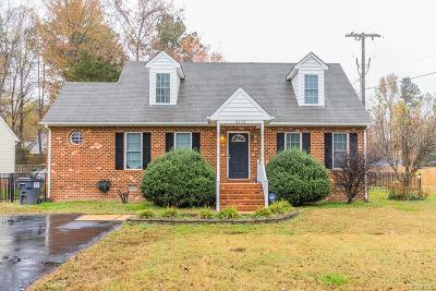 Chesterfield Single Family Home For Sale: 4404 Kingsland Road