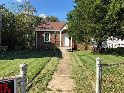 Petersburg Single Family Home For Sale: 2219 Ferndale Avenue