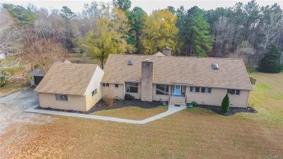 Hanover County Single Family Home For Sale: 7279 Shannondale Road