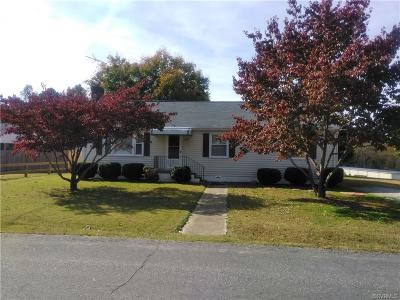 Chesterfield County Rental For Rent: 21700 Lee Street