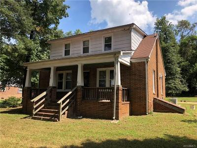 Chesterfield County Single Family Home For Sale: 9451 Hilda Avenue