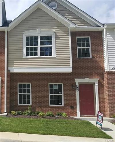 Hanover County Condo/Townhouse For Sale: 8103 Stony River Place #2