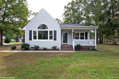 Dinwiddie County Single Family Home For Sale: 24213 Gloria Drive