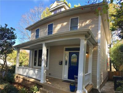 Richmond Single Family Home For Sale: 419 West 24th Street
