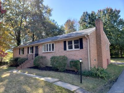 Chesterfield Single Family Home For Sale: 1918 Warrior Trail