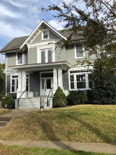 Richmond Single Family Home For Sale: 2421 Barton Avenue