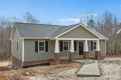 Bumpass Single Family Home For Sale: Lot 5 Tylers Landing