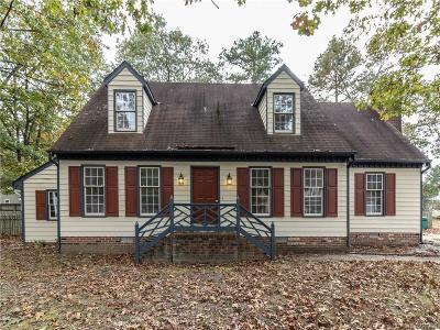 Chesterfield Single Family Home For Sale: 3501 Mineola Drive