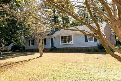 Chesterfield Single Family Home For Sale: 5237 Dermotte Lane