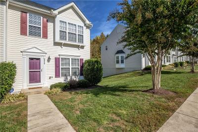 Chesterfield Condo/Townhouse For Sale: 6016 Bluffwood Court