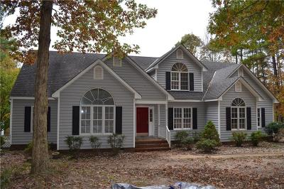 Powhatan Single Family Home For Sale: 1665 Wildwood Shores Drive