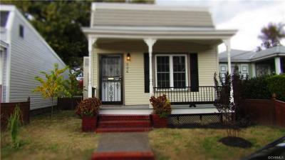 Richmond Single Family Home For Sale: 326 Hunt Avenue