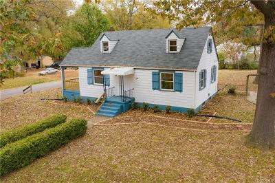 Richmond Single Family Home For Sale: 3456 McGuire Drive