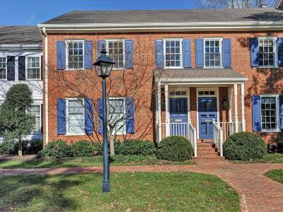 Henrico Condo/Townhouse For Sale: 300 North Ridge Road #51