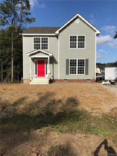 Richmond Single Family Home For Sale: 1713 Dillyn Terrace