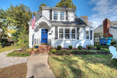 Richmond Single Family Home For Sale: 4906 West Franklin Street