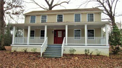 Goochland Single Family Home For Sale: 4803 River Road