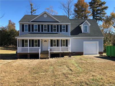 Dinwiddie County Single Family Home For Sale: 24519 Plantation Drive