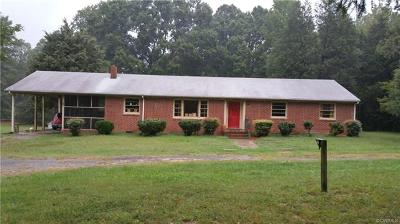 Goochland Single Family Home For Sale: 50 Sadie Drive