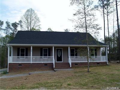 New Kent Single Family Home For Sale: 8899 Rock Cedar Road
